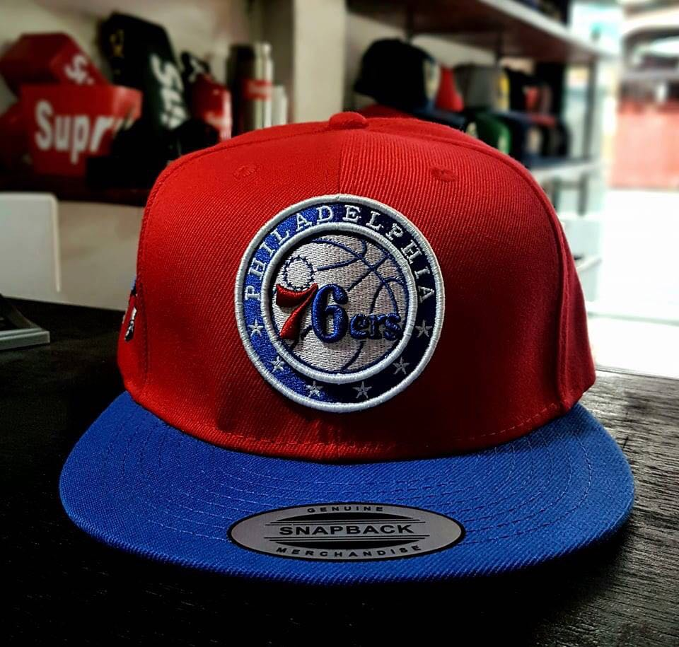 NBA BASKETBALL SNAPBACK CAP PHILADELPHIA 76ers 096f5ed4497