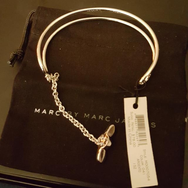 New with Tags Marc by Marc Jacobs cuff bracelet/dust bag