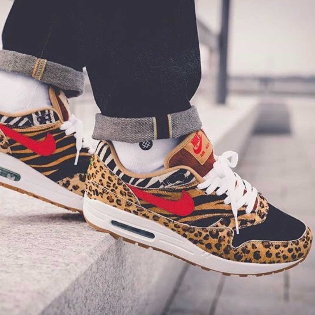 newest f33cf b22ad Nike Air Max 1 Atmos Animal Pack 2.0, Men s Fashion, Footwear on Carousell