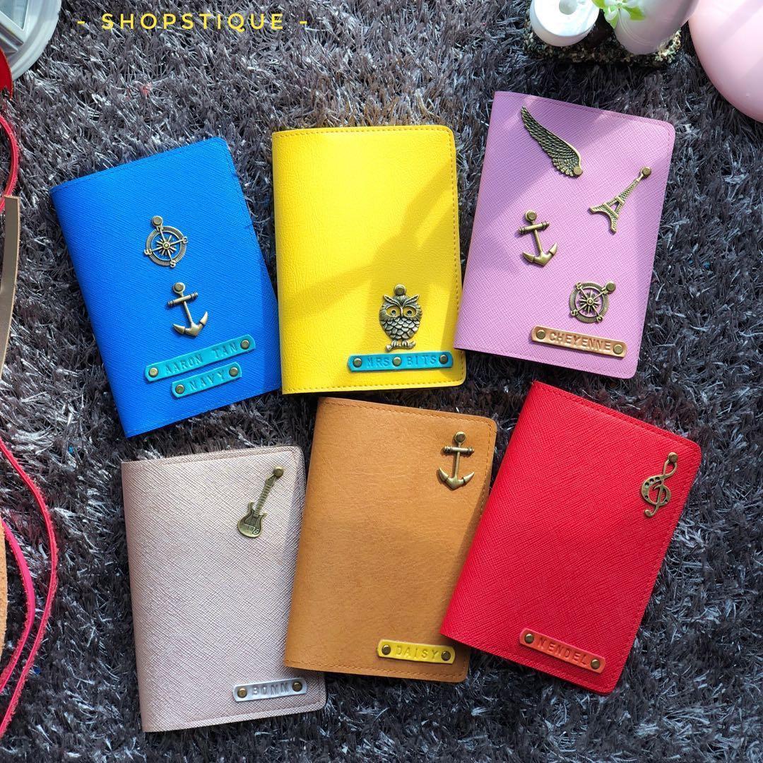 c721f2c58068 Personalised Passport Holder, Passport Cover, Customised Gift ...