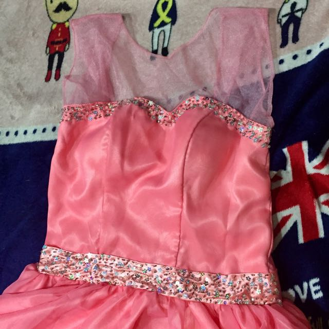 Pomelo/Pink Gown, Women\'s Fashion, Clothes on Carousell