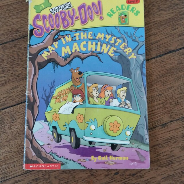 Scooby Doo Map in the Mystery Machine Book on Carousell on scooby doo ruh-roh, scooby doo the mystery car, scooby doo adventures,