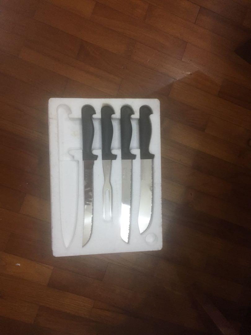 Shogun Kitchen Knife Knives Set Home Appliances On Carousell