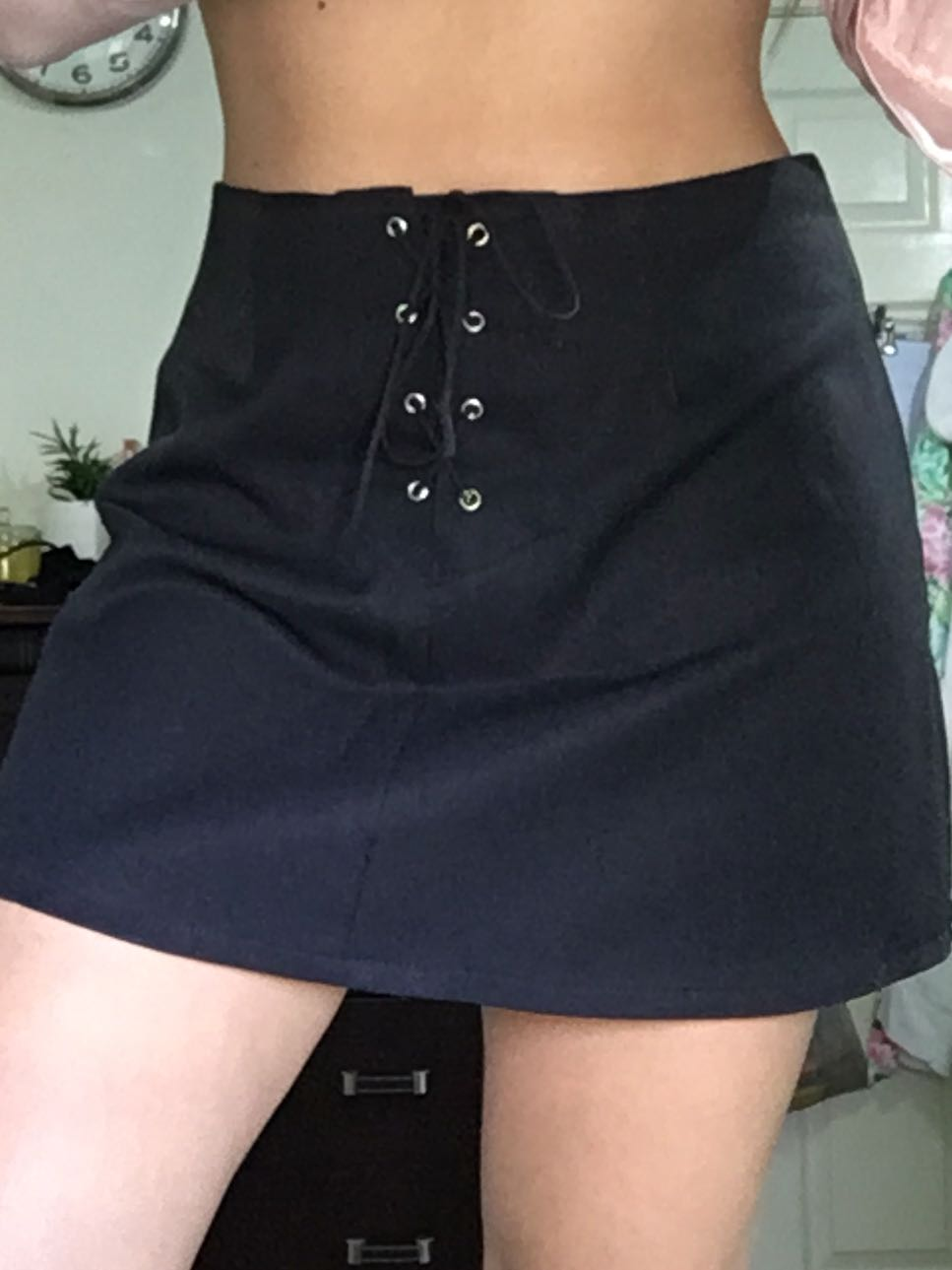 Size 10 | Wetseal Tie Up Skirt