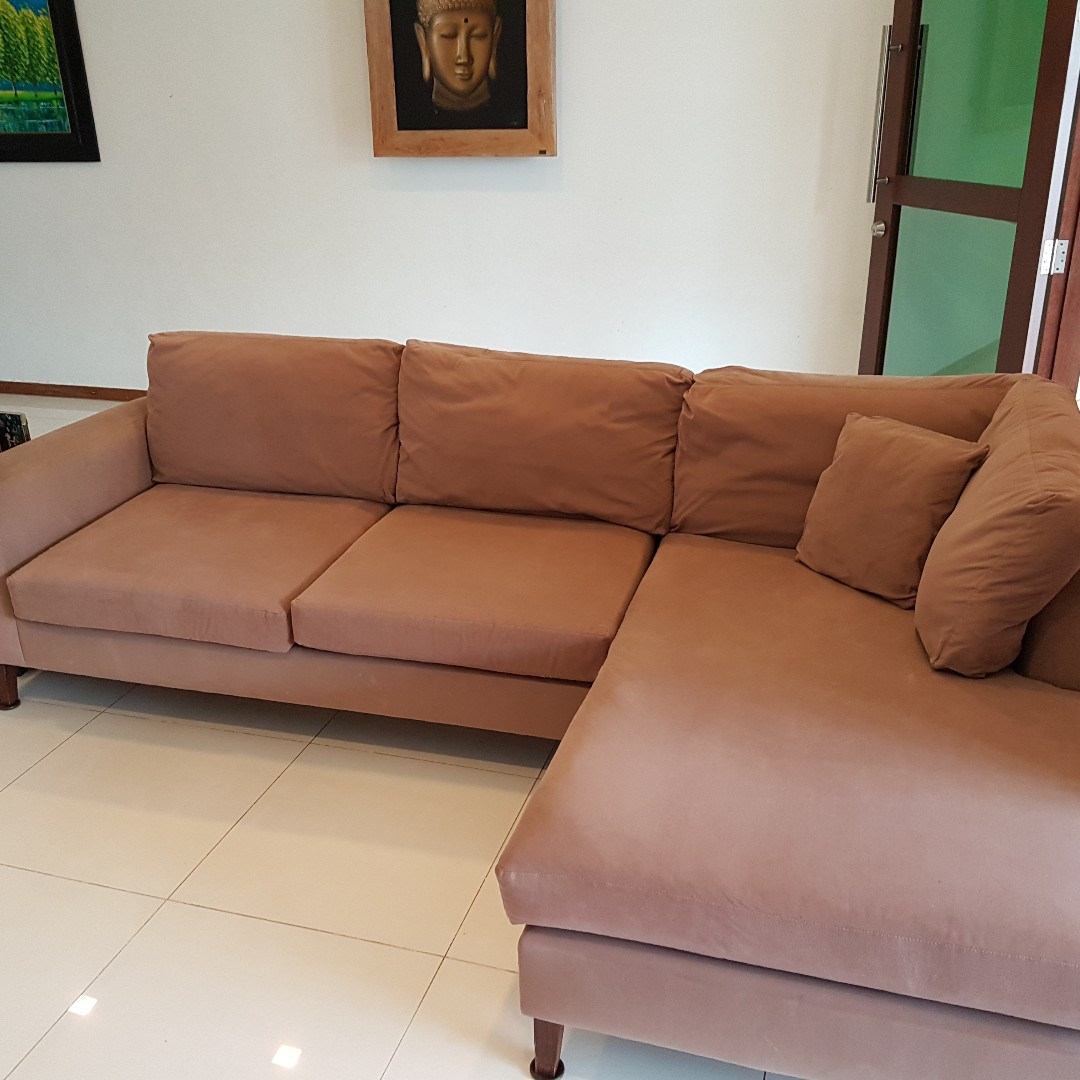 Suede Sofa Furniture Sofas On Carou