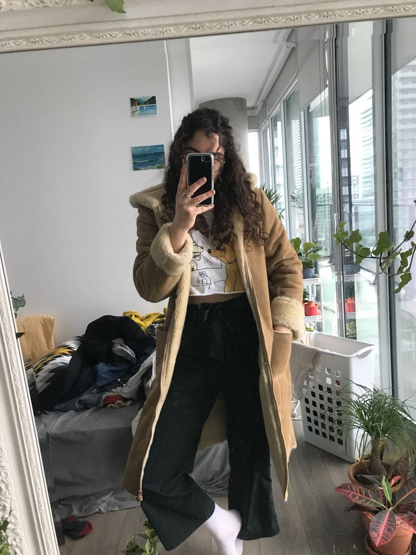 Super warm vintage coat