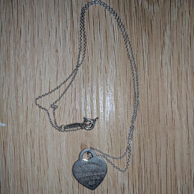 Tiffany&Co. Heart Necklace