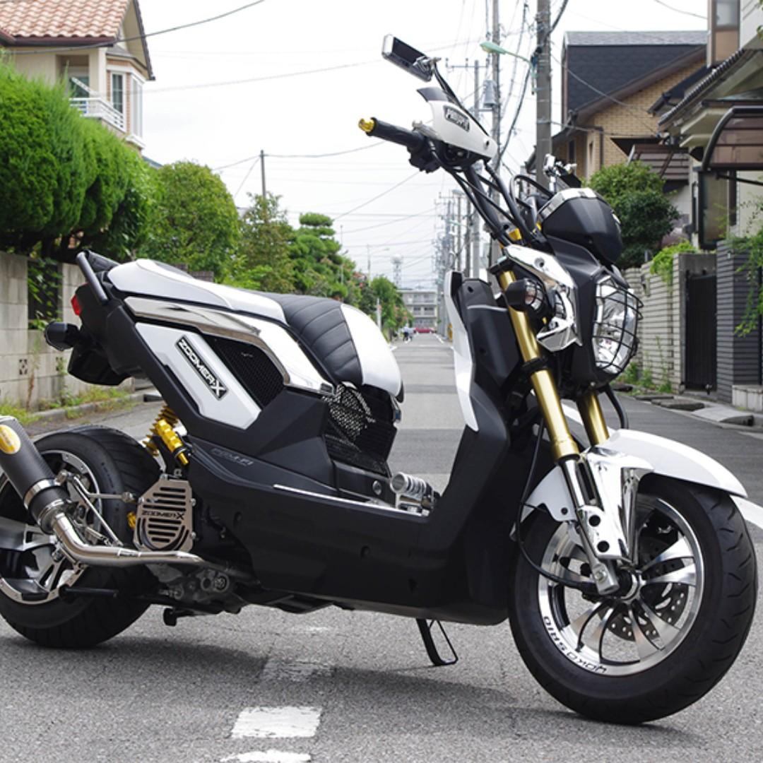 moto addict singapore honda zoomer x 125 custom rumble seat ready stock promo do not pm. Black Bedroom Furniture Sets. Home Design Ideas
