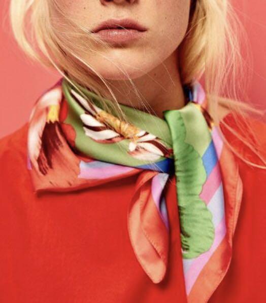Zara Silk Neck Tie