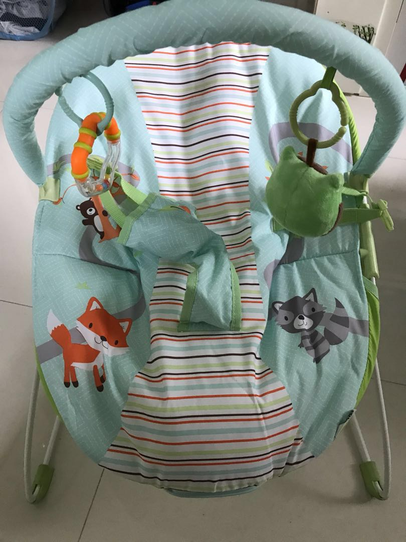 a0e01a710 Zobo Woodland Friends 嬰兒搖籃, Babies & Kids, Baby & Kids Toys on Carousell