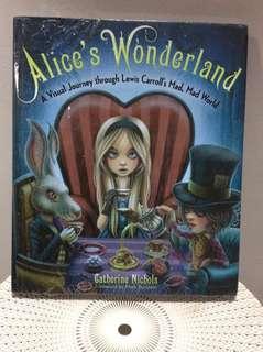 Alice in Wondeland illustrated book
