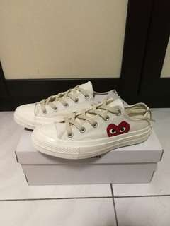 Converse x CDG Chuck Taylor 70s Beige All Star 1970 Comme des Garcons