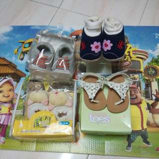 All for Rm25 Baby Shoes