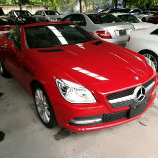 Mercedes Benz SLK200 - Year 2013 - UNREGISTERED -