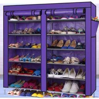 Shoe Rack with Dust Cover ( 2 Model )