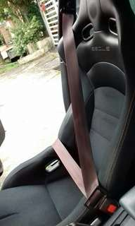 AE92 Seatbelt Maroon to Swap