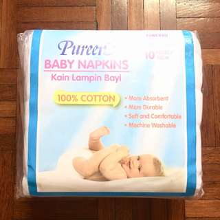 [NEW] Pureen Baby Napkins