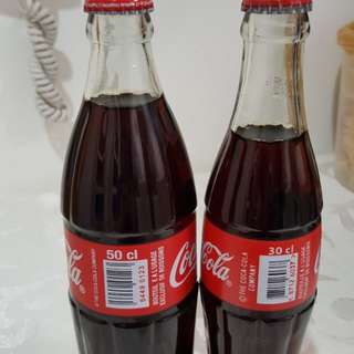 Unopened Coke Bottle from RWANDA(Red)