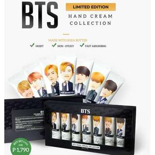 Official BTS Shea Butter Hand Cream Collection - 30ml - 7pcs