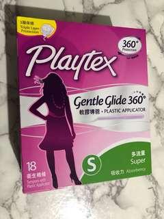 Playtex 衛生棉條 (18支多流量)