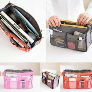 Double Zipper Bag Organizer