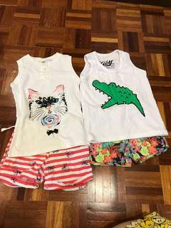 GIRL's 2 set (new) 2-3years