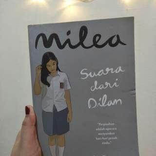 Novel Milea 'Suara Dilan'
