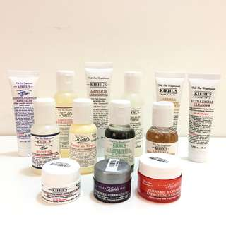 $100/set Kiehl's Sample set (任選3件)