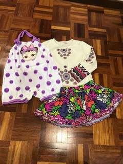 GIRL's set 2-3years