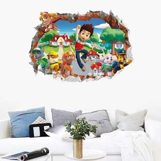 🐾Paw Patrol party supplies - wall decal/ wall stickers / home deco