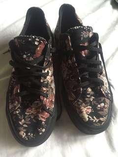 BoardWalk Floral Sneaker