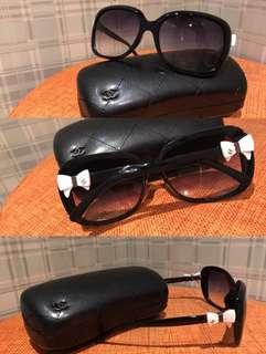 🚚 小香款 蝴蝶結 太陽眼鏡