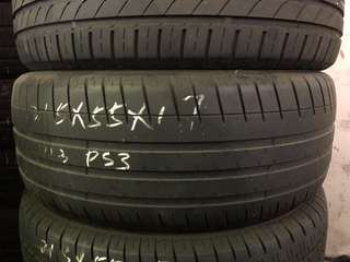 215/55R17 Michelin Pilot Sport 3 Used Tyres