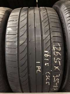 265/35R18 Continental Used Tyres