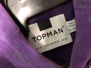 Authentic Topman Shirt (Made in Romania)
