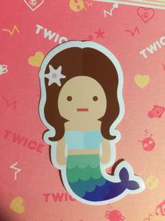 Twice 官方TT貼紙 Cheayoung 彩瑛