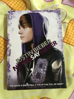 Justin Bieber: Never Say Never original DVD