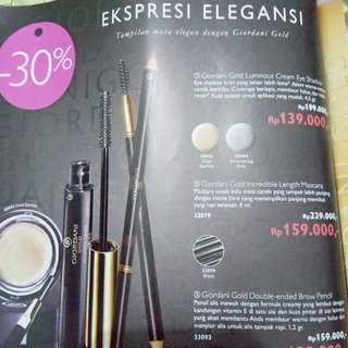 pensil alis giordani gold double ended