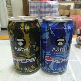 Pepsi 百事可樂 - Aape 汽水2罐