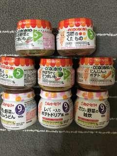 Kewpie 寶寶副食品 離乳食品 單件$65
