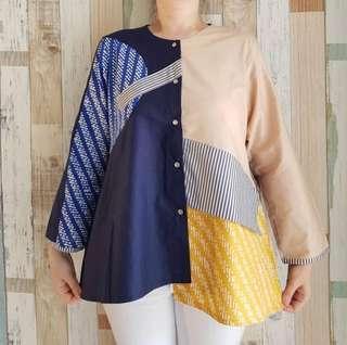 Blouse batik mix