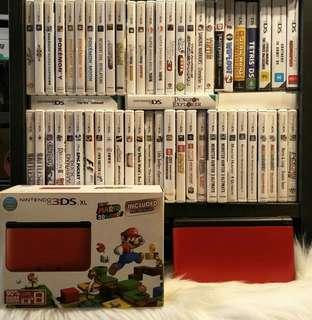 Nintendo 3DS XL (Metallic Red)