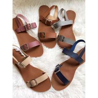 Flats sandals slingback Item code: c1001