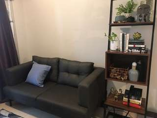 3-seater sofa and carpet