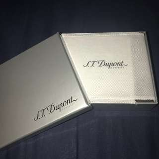 S. T. Dupont Classics Man Wallet 真皮男裝銀包 (Authentic )