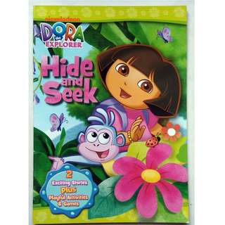 Dora The Explorer Activity and Story Book - Hide and Seek