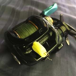 DAIWA TATULA HD CUSTOM 150HL-TW Left handle
