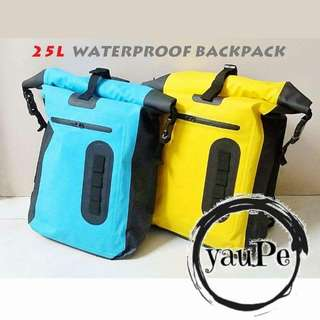 25L Waterproof Backpack Dry Bag防水背包背囊