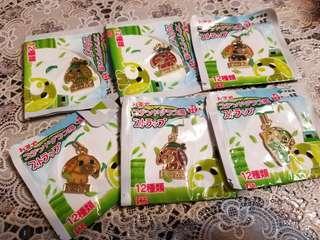 綠茶狗 掛飾6個