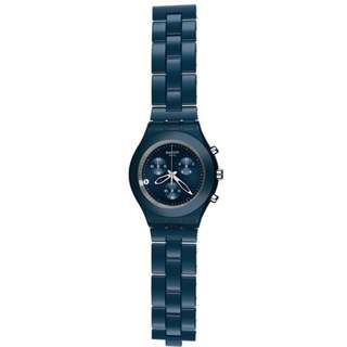 SWATCH FULL-BLOODED SMOKY BLUE SVCN4004AG WATCH
